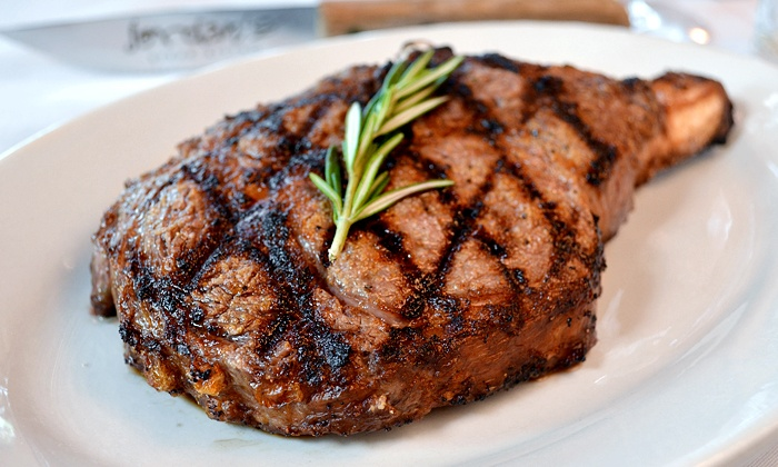 Jordan's Steak Bistro - Wellington Green: Steakhouse Dinner and Drinks for Two or Four or More at Jordan's Steak Bistro (50% Off)