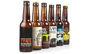 Cerveza Tyris: Visita a la fábrica de cerveza artesanal Tyris, cata ilimitada y picoteo para una o dos personas desde 9,95 €