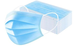 50-Pack Disposable Non-Medical 3-Ply Face Masks