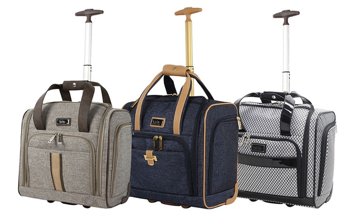 c1d597453 Nicole Miller Underseat Carry-On Luggage | Groupon