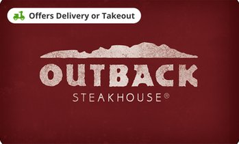 $25 eGift Card to Outback Steakhouse
