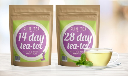 14-Day (€14.99) or 28-Day (€19.99) Slim Tea Supply (Up to 71% Off)