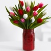 52% Off Sweetheart Tulips & Vase from ProFlowers