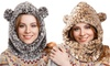 Leopard Snood Hat