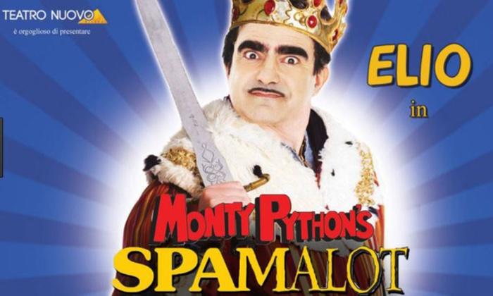 Elio in Spamalot al Teatro Nuovo di Milano