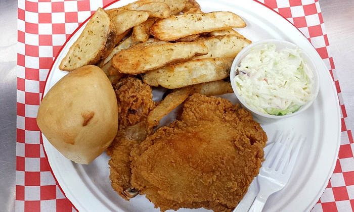 CHKN-N-MO - Riverside: $6 for $10 Worth of Southern Food at CHKN-N-MO