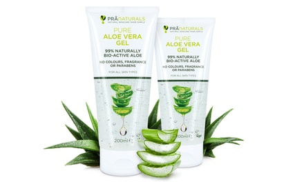 One or Two PraNaturals Aloe Vera Gels