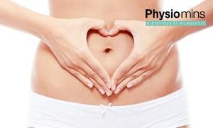 Physiomins Rouen: 1 consultation diététique, 1 bilan morphologique et 3 modelages minceur de 40 min à 49,90 € chez Physiomins Rouen