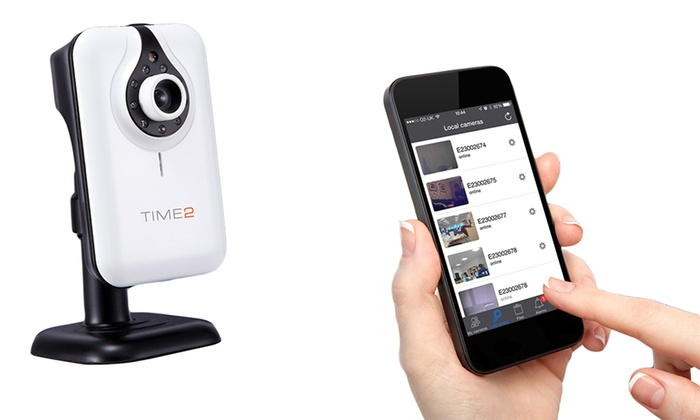 Groupon Goods Global GmbH: Wireless HD Security Camera with Night Vision from €34.99