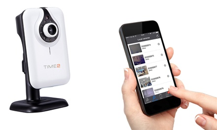 1, 2 of 3 HDbeveiligingscamera voor binnenshuis met Micro SDkaarten van 32 of 64 GB vanaf € 39,99