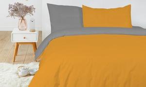 Pack de linge de lit bicolore