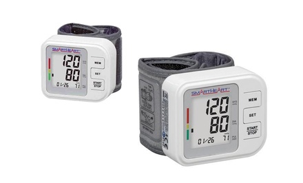 SmartHeart Wrist Digital Blood Pressure Monitor. Free Returns.