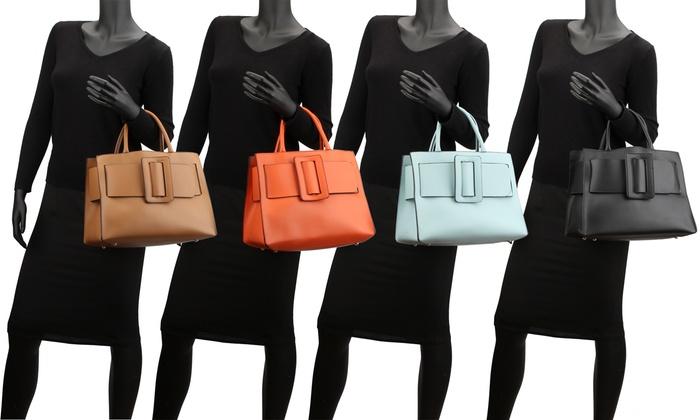 MMK by Michelle Karen Collection Bow-Tie Handbag