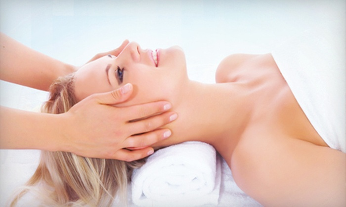 Bare - Center Square: Microdermabrasion with Mini Facial and Chemical Peel Options at Bare (Up to 52% Off)