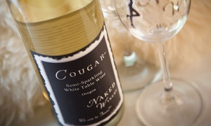 Naked Winery: Wine Tasting Package for Two or Four with $20 or $40 Take-Home Wine Credit at Naked Winery (34% Off)