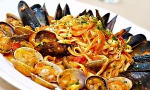 La Tavola Ristorante Italiano: Italian Cuisine and Drinks at La Tavola Ristorante Italiano (Up to 52% Off). Two Options Available.
