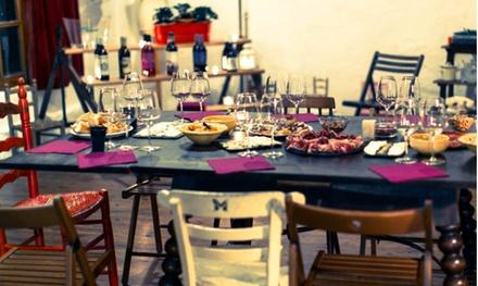 Cata de vinoscon maridaje para 1 , 2 o 4 personas en L'Atelier des Vins (hasta 70% de descuento)