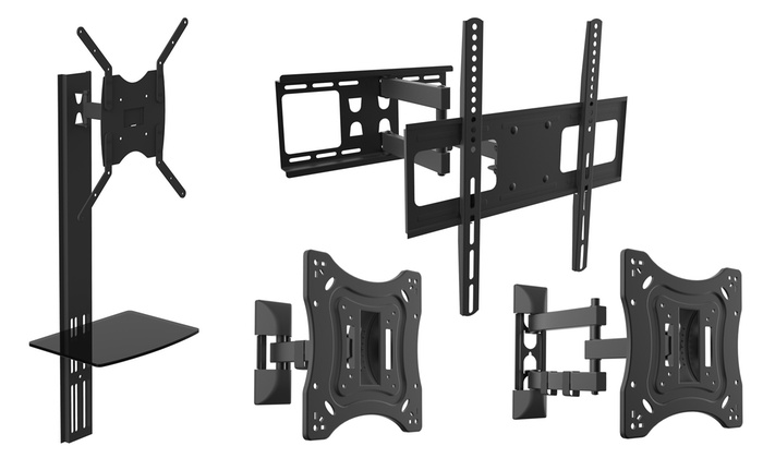 supports muraux orientables pour t l viseurs groupon shopping. Black Bedroom Furniture Sets. Home Design Ideas