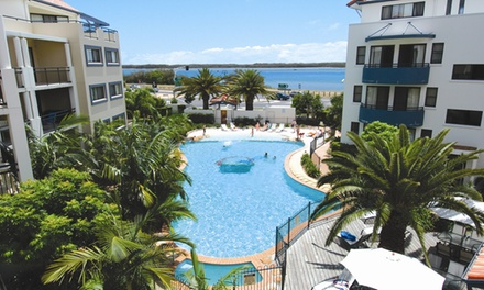 Gold Coast: 2-5 Nights for Up to 4 People with Early Check-In, Chocolates and Wine at Sandcastles on the Broadwater