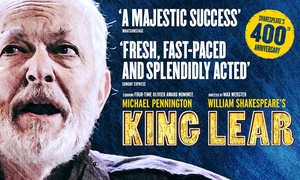 ATG Tickets: Ticket to King Lear, Opera House, 31 May - 3 June (Up to 62% Off)