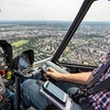 Panorama-Flug mitHubschrauber