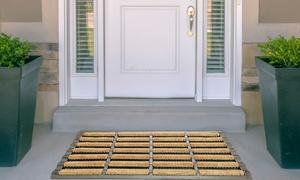 Tapis de porte en fibres de coco de 40 x 60 cm