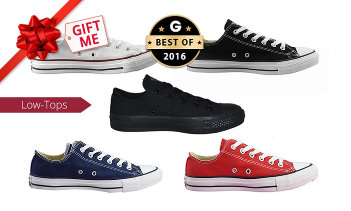 Groupon Goods: $59 for One Pair of Converse Chuck Taylor All-Star Low-Tops (Don't Pay $104.64)