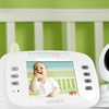 """Safe N' See Advanced 3.5"""" Video Baby Monitor with 2 Cameras"""