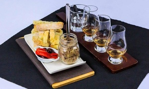 Bootlegger, L'Authentique: Whiskey Tastings for Two or Four with Optional Snacks at Bootlegger, L'Authentique Bar (Up to 53% Off)