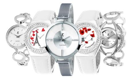 Reloj Sc Crystal Paris con cristales genuinos