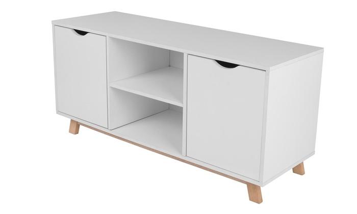 Kast Scandinavische Stijl : Tv meubel scandinavische stijl groupon goods