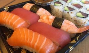 Sushi Bar Wazakura: Plateau de 18 ou 36 pièces composé de 12 ou 24 makis et 6 ou 12 sushisà emporter dès 15 € auSushi Bar Wazakura
