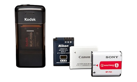 Kodak UC-200 Universal Li-Ion Digital Camera USB Battery Charger