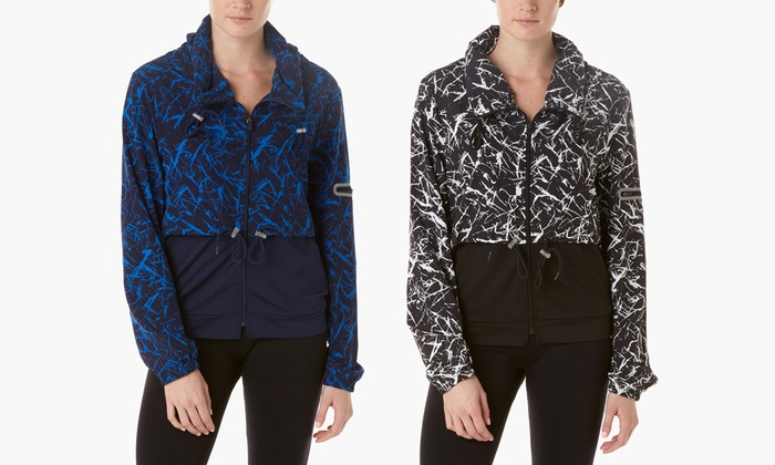 Form+Focus Splatter Print Long Sleeve Jacket