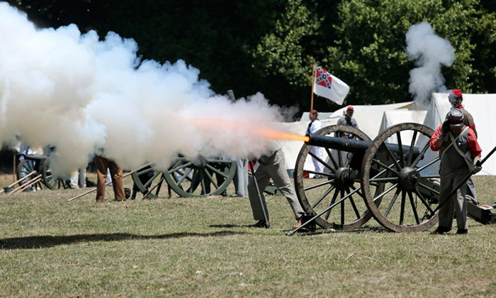 California Historical Artillery Society - Duncans Mills: $15 for California Historical Artillery Society's Civil War Days for Two on July 18 or 19 ($24 Value)