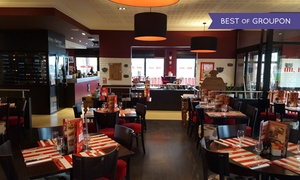 Restaurant La Boucherie Besançon: Entrecôte d'environ 200 g avec café gourmand pour 2 personnes à 29,90 € au Restaurant La Boucherie Besançon