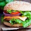 Menú de hamburguesa para 2