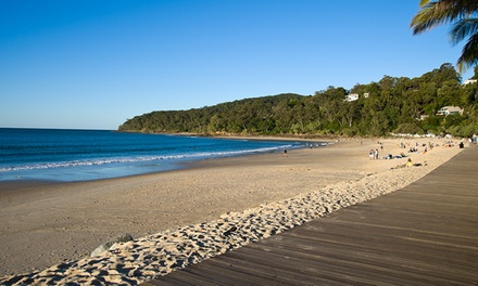 Noosa Heads: 3-5 Nights for Two or Four with Late Check-Out, Wine, Tennis Racket Hire and Gym Pass at Noosa Hill Resort