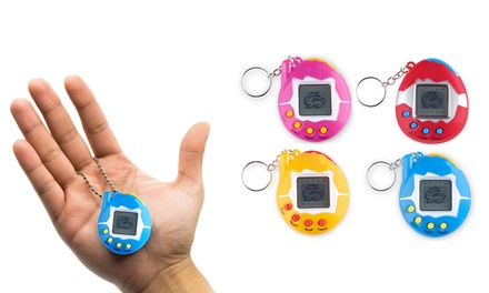 One, Two, Three or Four Retro Virtual Pocket Pets in Choice of Colour