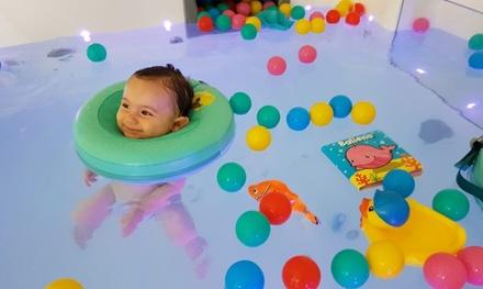 Spa para bebés con sesión de hidroterapia y masaje a elegir en Glub Glub Baby Spa&Fit (hasta 33% de descuento)