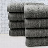 Spa Collection 100% Finest Combed Cotton Towel Sets - 4 and 8 Pieces