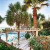 Intimate Island Resort Right on the Beach