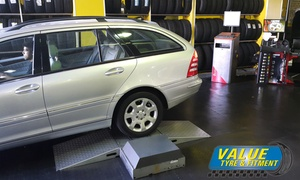 Value Tyre and Fitment: From R50 for a R250 Voucher for Vehicle Repairs & Fitment
