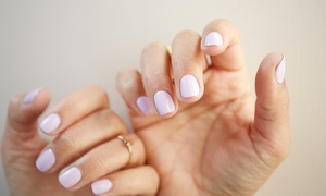 The Nail Spa: Manicure and Gel Overlays from R159 for One with Optional Pedicure and Gel Overlays at The Nail Spa