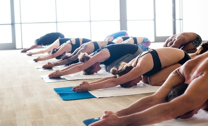 Bikram Yoga, Inferno Hot Pilates, or Cycling Classes at Onefire (Up to 65% Off). Three Options Available.