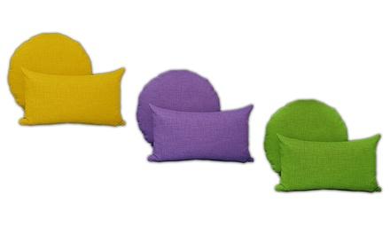 Set di 2 cuscini arredo Multicolordisponibili in 2 misure e vari colori
