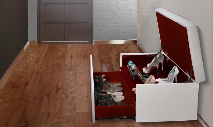 Coffre banquette range chaussures Coffre banquette range chaussures ... 78ba8fcf2223