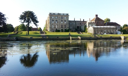 Grounds Entry with Traditional or Sparkling Afternoon Tea for Two at Stoneleigh Abbey (Up to 53% Off)