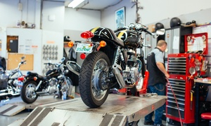 EagleRider: Regular or Synthetic Oil Change, Tune-Up Package, or Motorcycle Services from Eaglerider (Up to 51% Off)