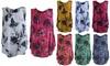 Cotton Linen Floral Print Vest Top